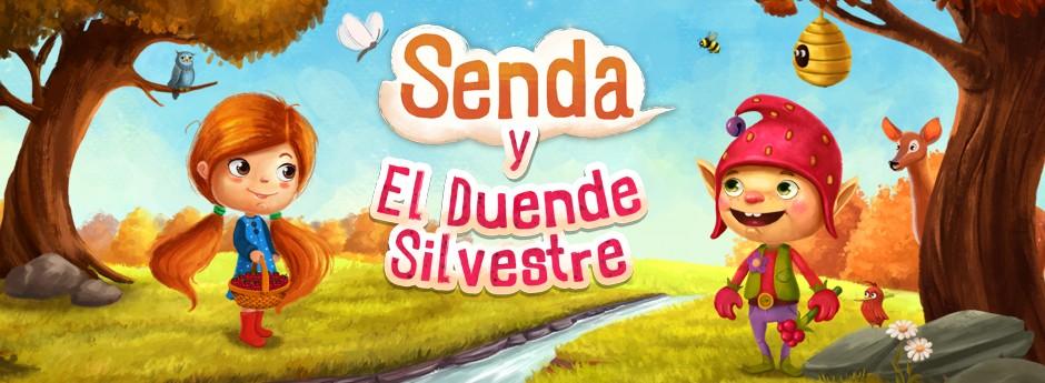 SENDA Y EL DUENDE SILVESTRE. La nueva aventura de Senda nos permitirá conocer al Duende Silvestre.