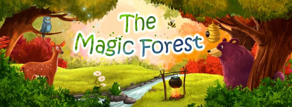 EL BOSQUE MÁGICO. Adéntrate en el bosque. Conoce a sus mágicas criaturas, de noche y de día.